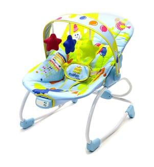 Babywippe Evolutive Light Blue - Multicolor