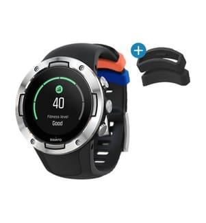 SUUNTO - Smartwatch GPS 5 Black Steel