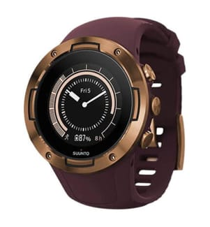 SUUNTO - Smartwatch GPS 5 Burgundy Cooper