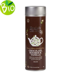 Rooibos Schokolade & Vanille - 15 Pyramidenbeutel;