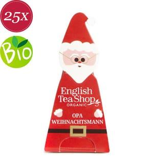 Santa Claus: Opa Weihnachtsmann - 25 Pyramidenbeutel
