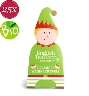 Elf: Fleissiger Weihnachts-Elf - 25 Pyramidenbeutel