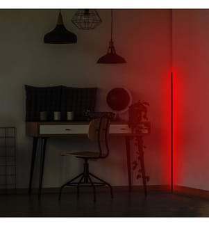 Stehlampe - Rot