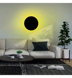 Wandleuchte Circle - Gelb