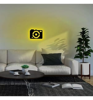 Wandleuchte Camera - Gelb