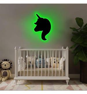 Wandleuchte Unicorn - Grün