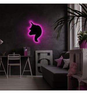 Wandleuchte Unicorn - Rosa