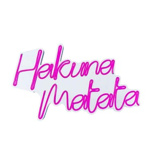 Wandleuchte Hakuna Matata - Rosa