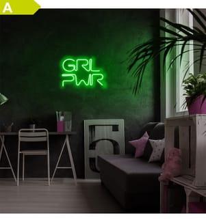 Wandlampe - Grün