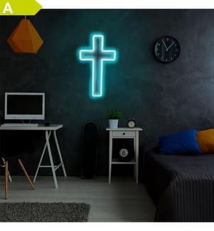 Wandlampe - Blau