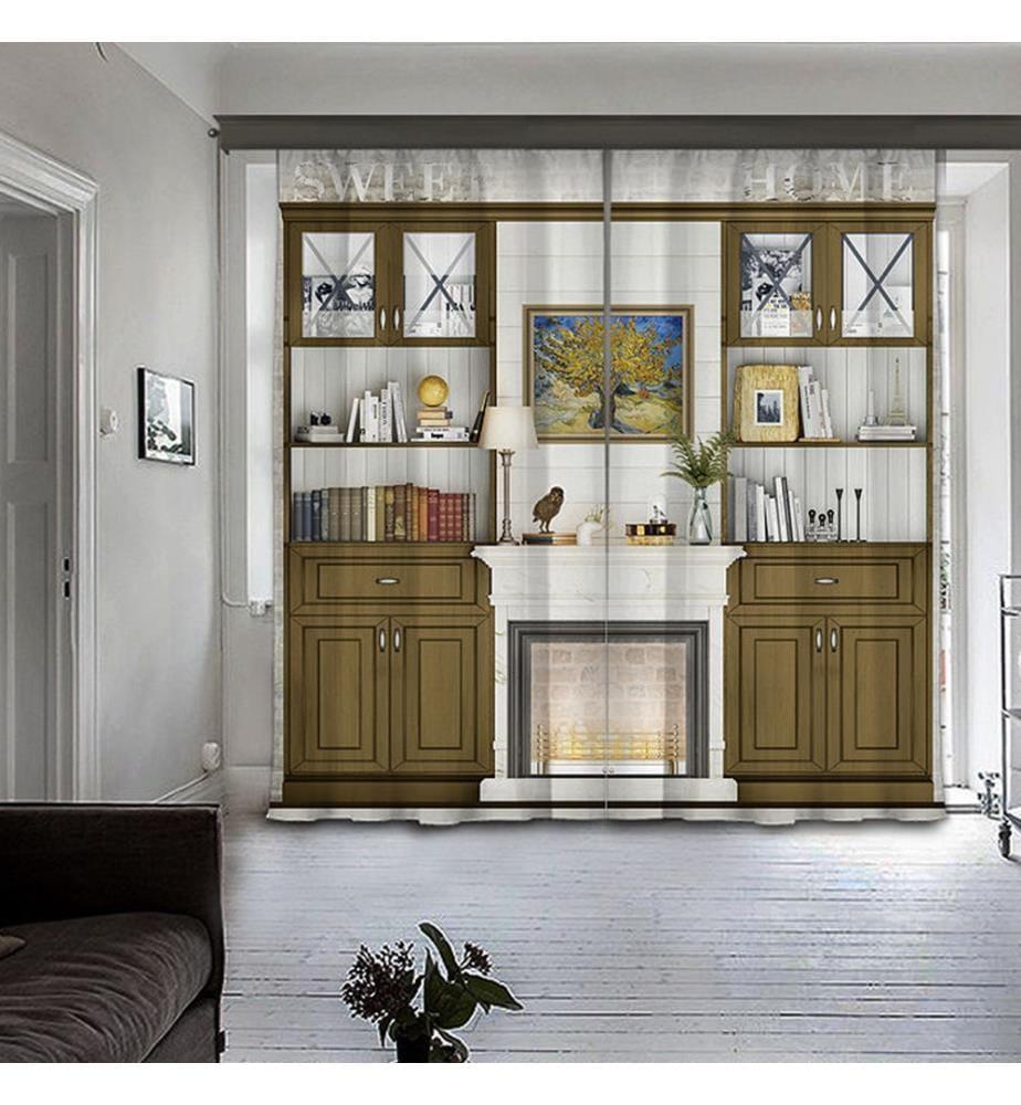 2er-Set Vorhänge - 140 x 260 cm