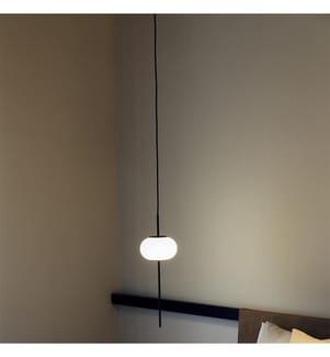 Aufhängung Mattschwarz Lackierung Glasschirm Diffusor+ Baldachin