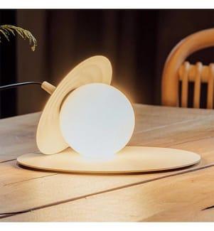 Tischlampe G9 Led 1 X 4,8 W Texturierter Nerz Lack