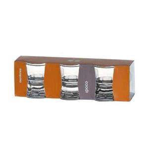MONTANA - Schnapsglas POCO 50 ml, 3 Stück, Transparent
