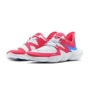 NIKE - Sneakers Free RN 5.0 Weiss und Rot