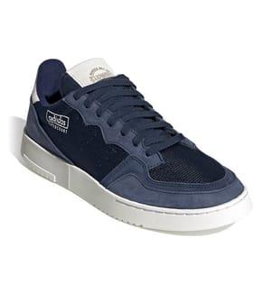 ADIDAS - Sneakers Supercourt Marinblau und Weiss