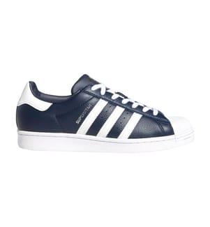 ADIDAS - Sneakers Superstar - Marinblau und Weiss