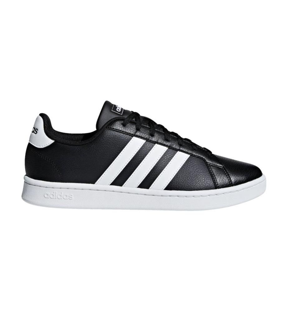 ADIDAS - Sneakers Grand Court - Schwarz und Weiss