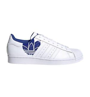 ADIDAS - Sneakers Originals Superstan - Weiss und Dunkelblau