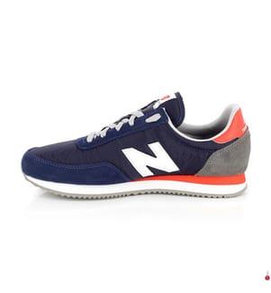 NEW BALANCE - Leder-Sneakers UL720 - 3 Farbtöne