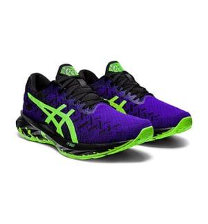 ASICS - Sneakers GEL-Nimbus 23 - Schwarz und Dunkelblau und Grün
