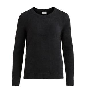 VILA CLOTHES - Pullover - Schwarz