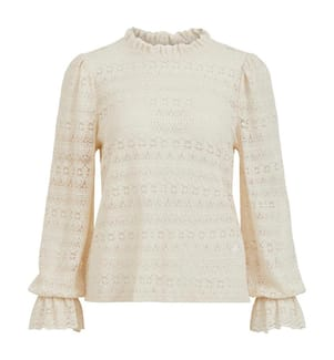 VILA CLOTHES - Top - Cremeweiss