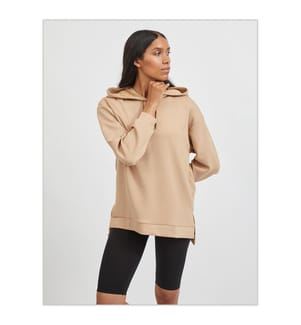 VILA CLOTHES - Sweatshirt - Bronze