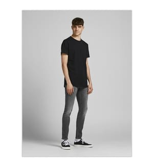 JACK & JONES - Jeans Liam Skinny Fit - Schwarz