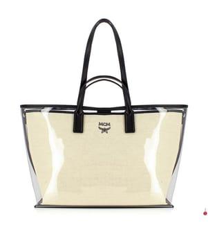 Shoppingtasche Medium Logo Glitch Hologram - Multicolor und Transparent