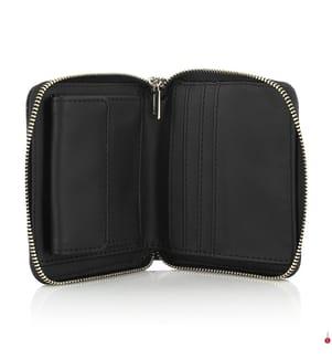 Brieftasche Kamryn - Schwarz und Grau
