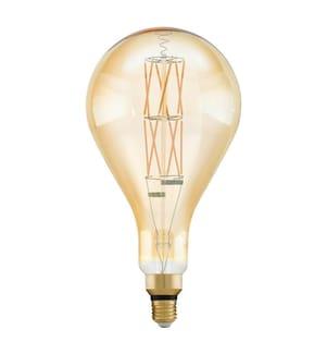 EGLO - Leuchtmittel LM-E27-LED PS160 8W, Amber, 2100K