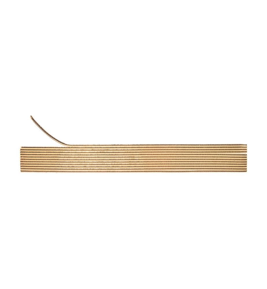 HOME - Home Wachsrundstreifen, 12 Stück gold(2 x 200 mm)