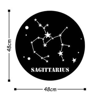 HOME - Wanddekoration Sagittarius Horoscope - 48 x 48 cm