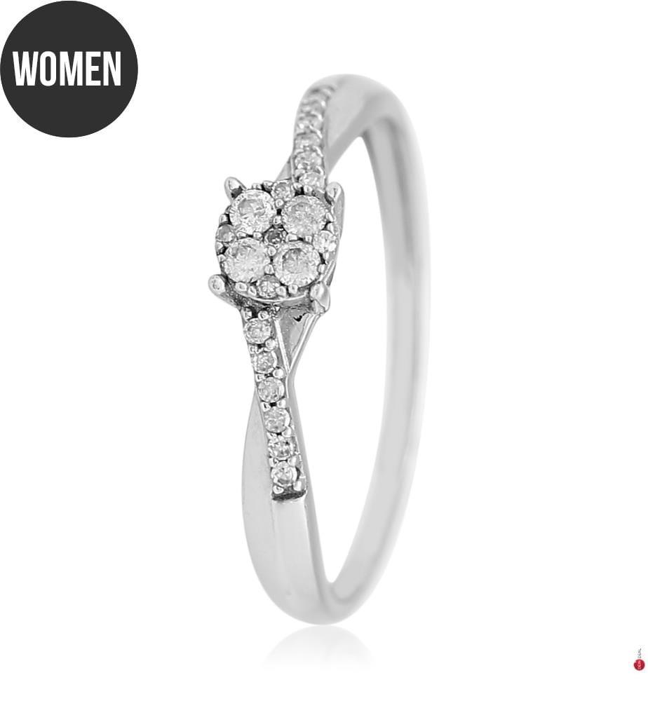 DIAMOND & CO - Ring Lismore Silber