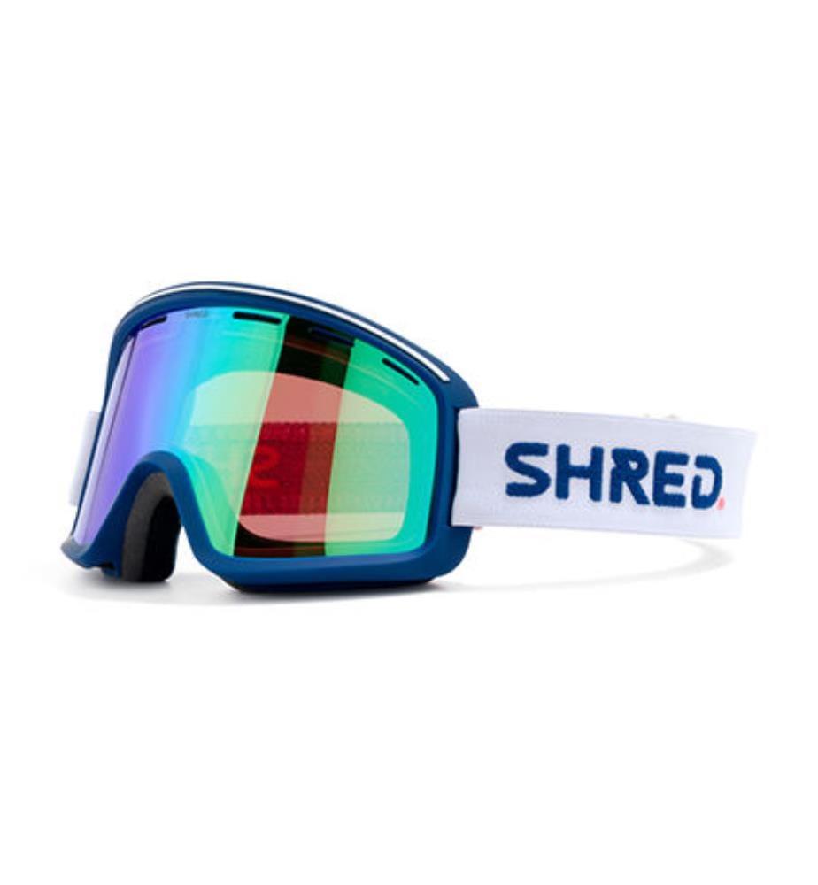 SHRED - Skibrille Monocle VLT 16 % - Weiss und Marinblau