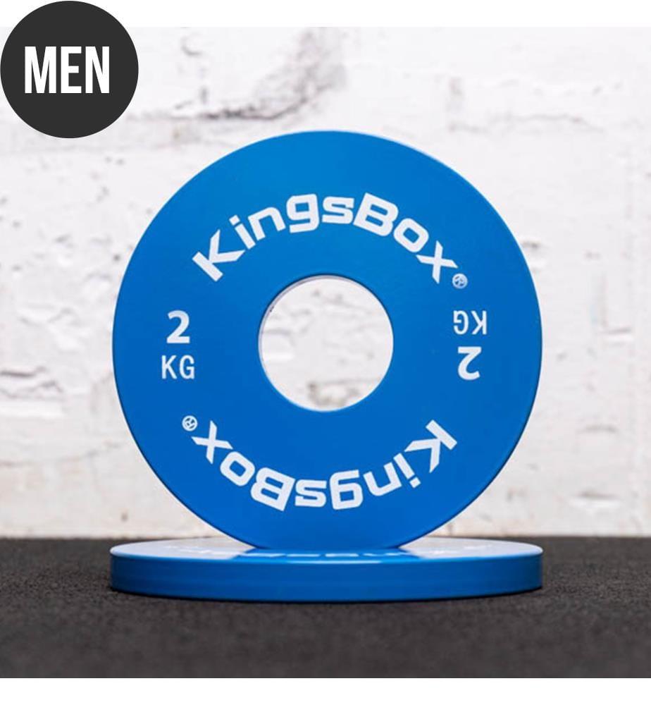 KINGSBOX - Micro-Gewichte aus Stahl 2 kg