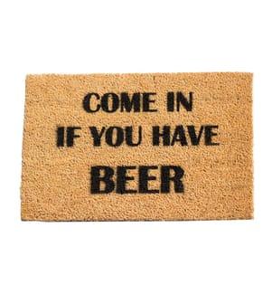 ARTSY - Fussmatte Beer 60 x 40 x 1.5 cm - Camel