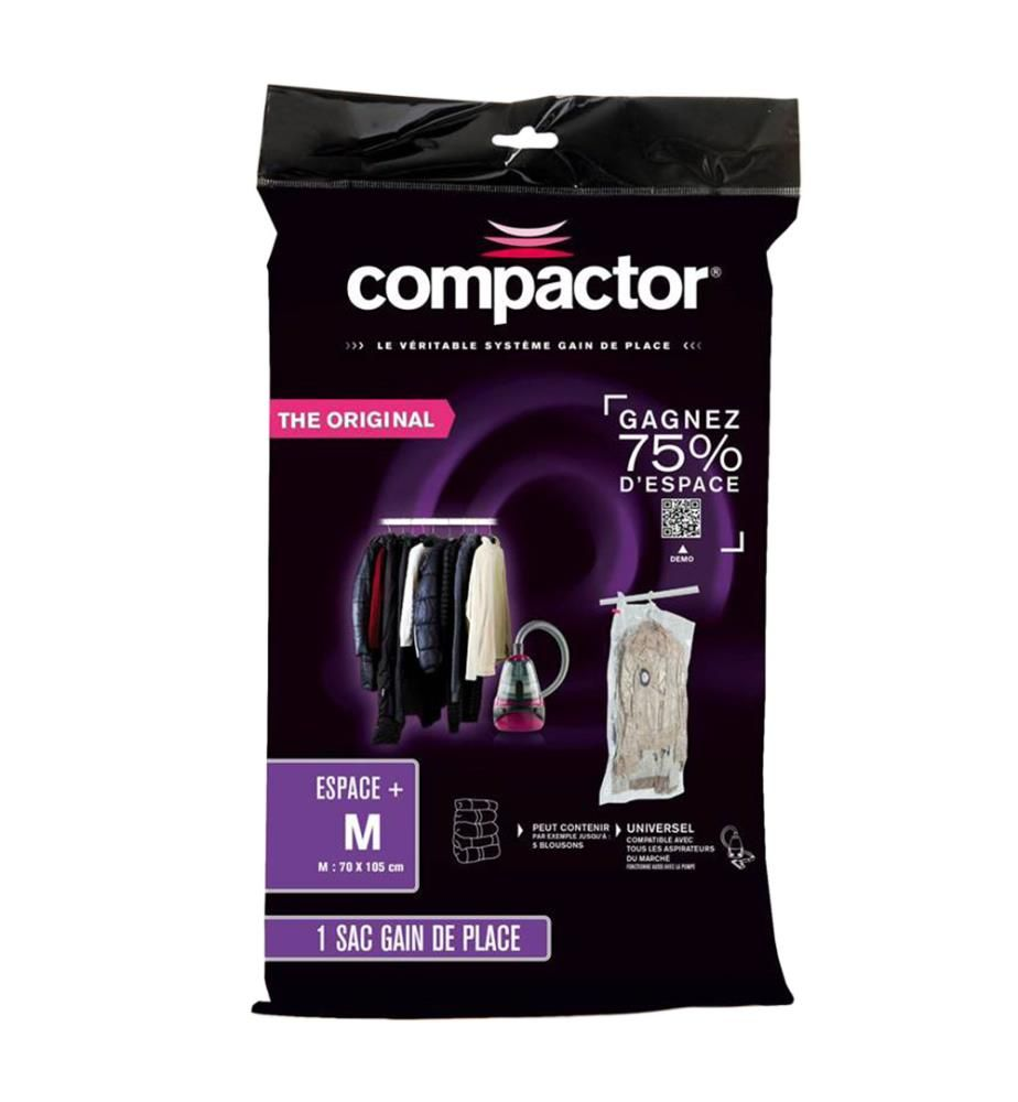 COMPACTOR - Vakuumtasche Compactor M - Transparent