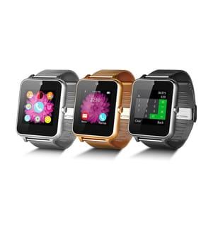 UNOTEC - Smartwatch Smartband Solish - Silber