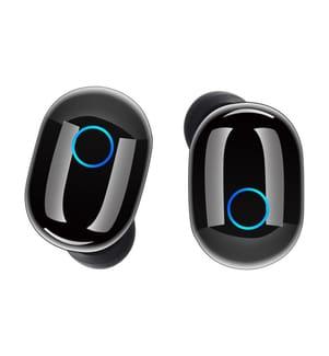 Bluetooth Kopfhörer Unotec Nueboo Twin 4 - Schwarz