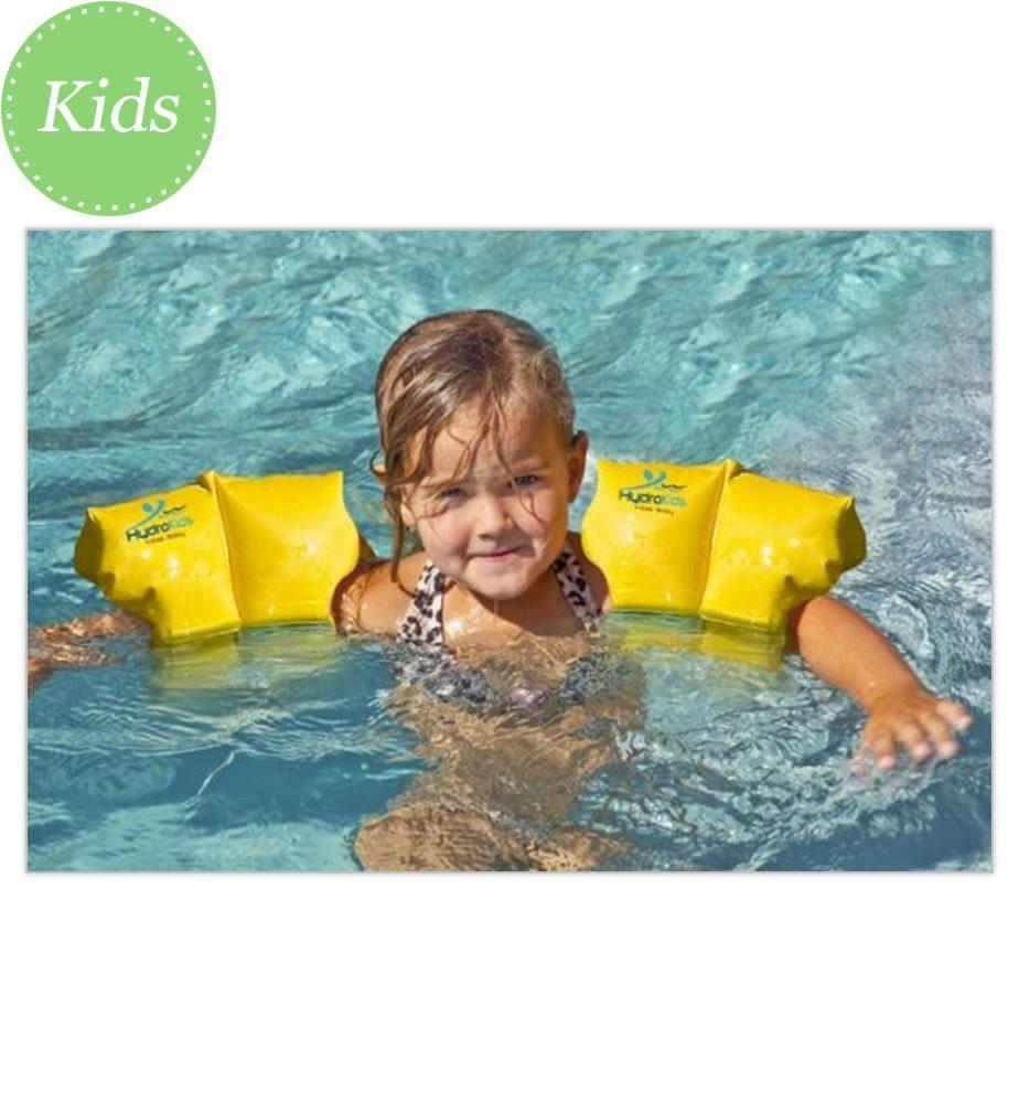 BISAL - Schwimm-Flügel ab 6 Jahren - Gelb