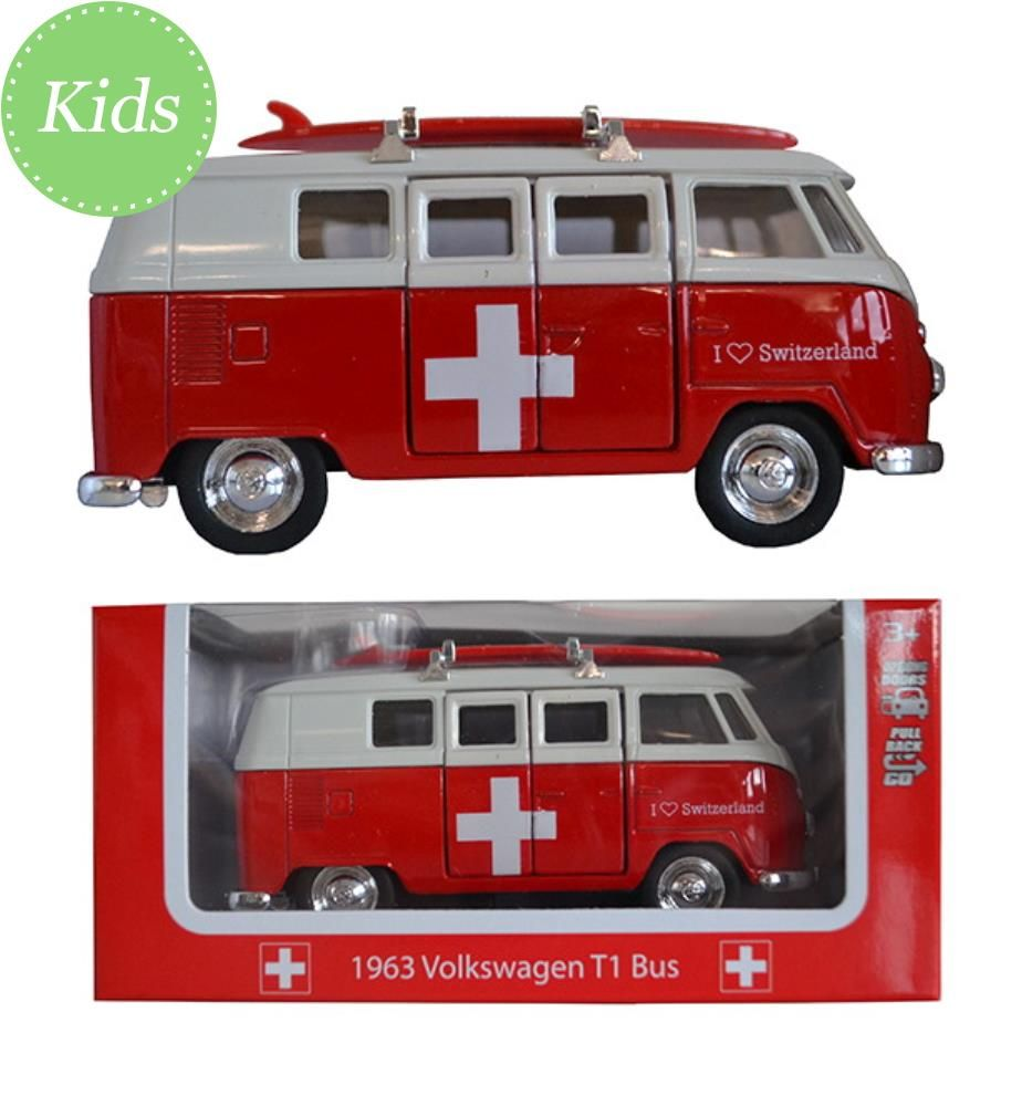 VW Bus T1 Switzerland 12 cm - 3+