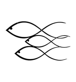 Wanddekoration Fish - 50 x 30 x 0.15 cm
