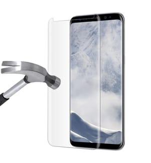 Display-Schutzglas Samsung Galaxy S8 Plus - Transparent