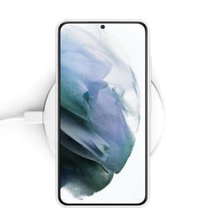 Galaxy S21 5G kompatible Integralschale - Transparent