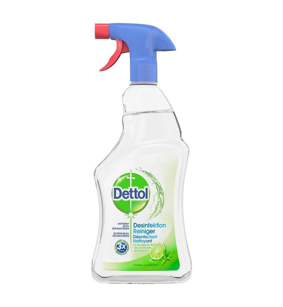 Dettol Desinfektionsreiniger Limette & Minze, 12 Stück à 750ml