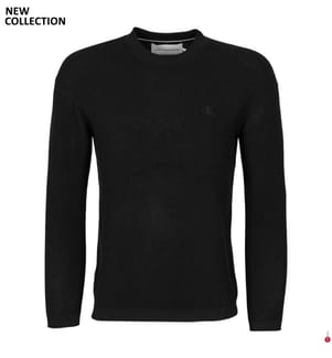 Pullover Relaxed Fit - Schwarz