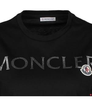 MONCLER -  T-Shirt - Schwarz