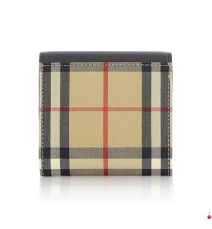 BURBERRY - Brieftasche Vintage Check - Multicolor